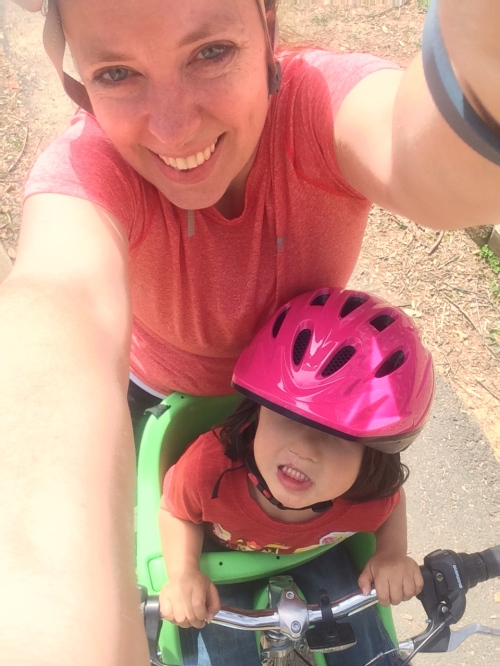 Bike rides are one of our favorite springtime activities!